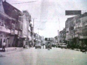 Pos penagihan karcis parkir di Jl.Sulawesi ketiak dikelola swasta tahun 1990/Foto: dok
